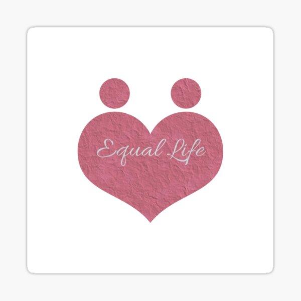 Equal Lifestyle Sticker