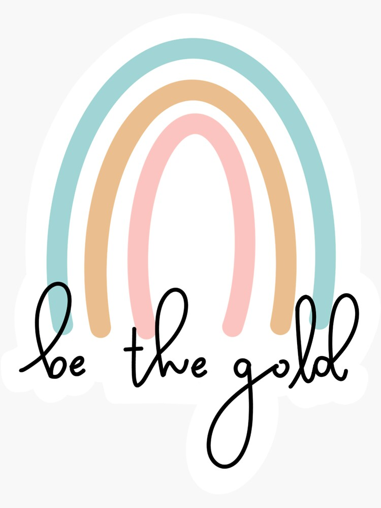 be the gold by CoachMarie20