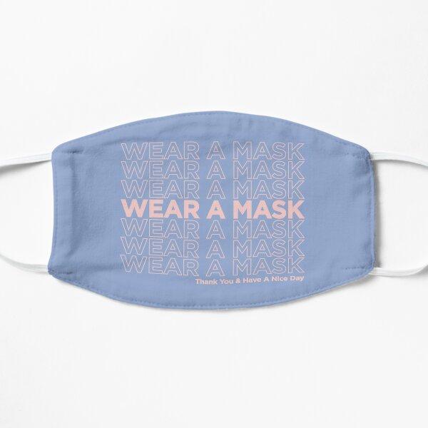 wear a mask, thank you takeout bag [pink/blue] Mask