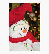 Frosty Christmas 1 Photographic Print