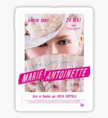 Marie Antoinette French Movie Poster Sticker