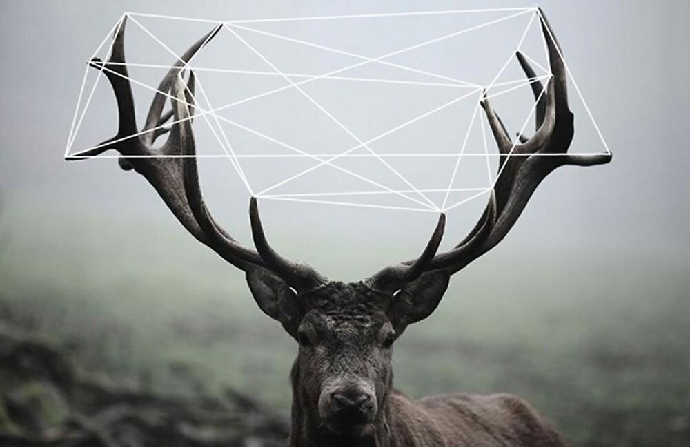 Deer Stringed Man by Brammer