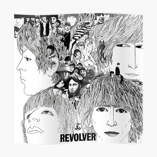 Revolver Album Cover Poster