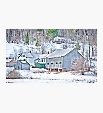 Extolling Rural Life Photographic Print