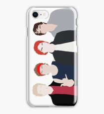 band drawing iPhone Case/Skin