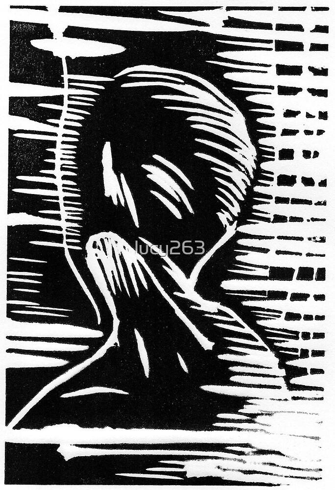 Joy (in black) by lucy263