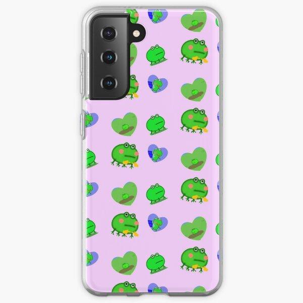 peppa frog pack Samsung Galaxy Soft Case