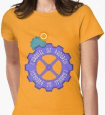 Carousel of Progress Women's Fitted T-Shirt
