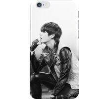 Black&White BTS Taehyung iPhone Case/Skin