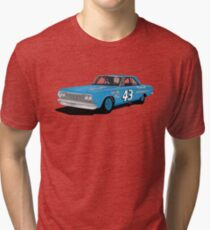 1964 Petty Plymouth Tri-blend T-Shirt
