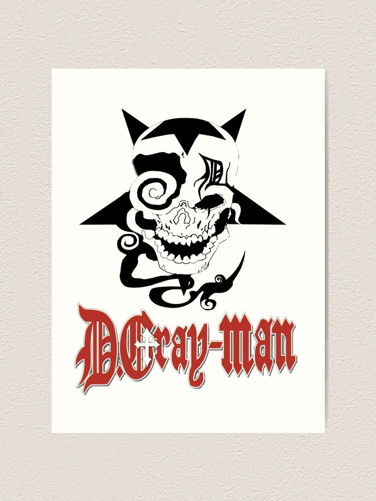 Alternate view of D Gray Man logo Art Print