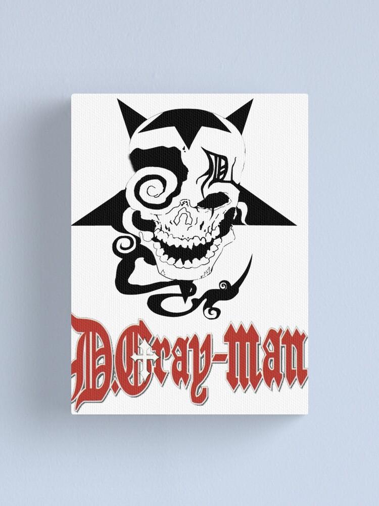Alternate view of D Gray Man logo Canvas Print