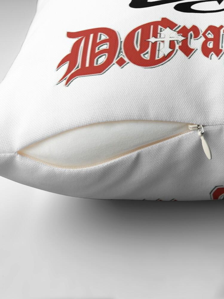 Alternate view of D Gray Man logo Throw Pillow