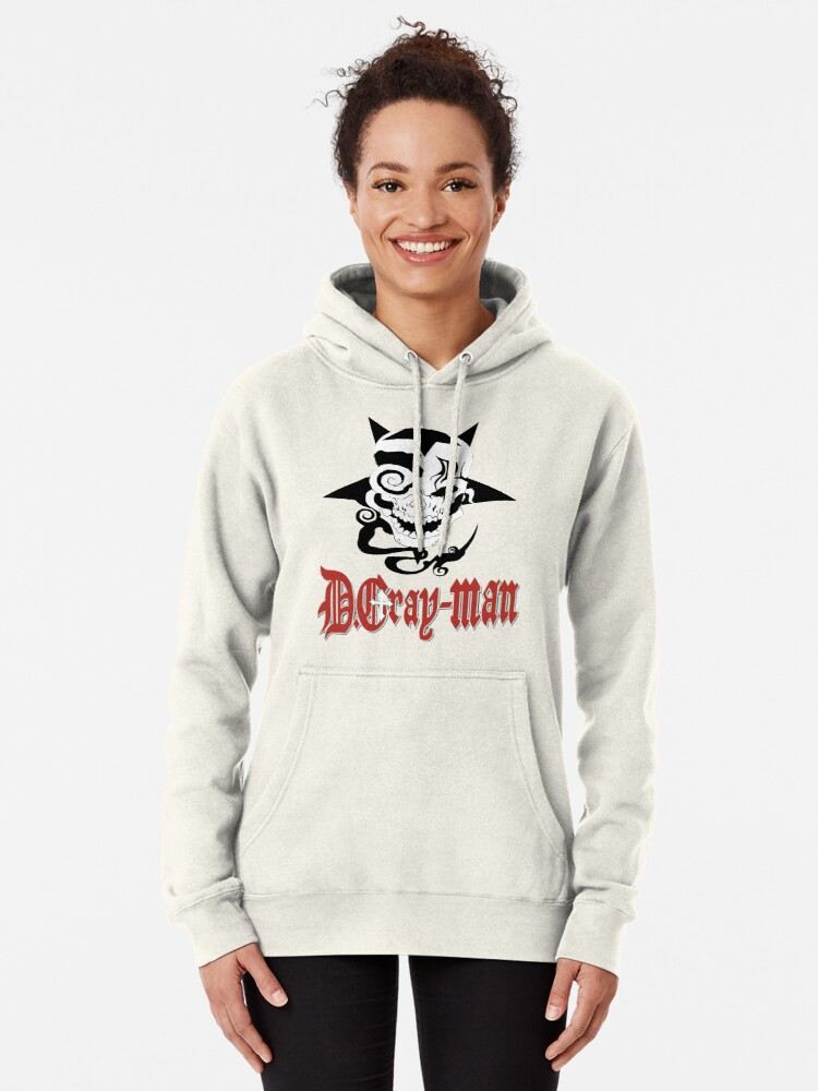Alternate view of D Gray Man logo Pullover Hoodie