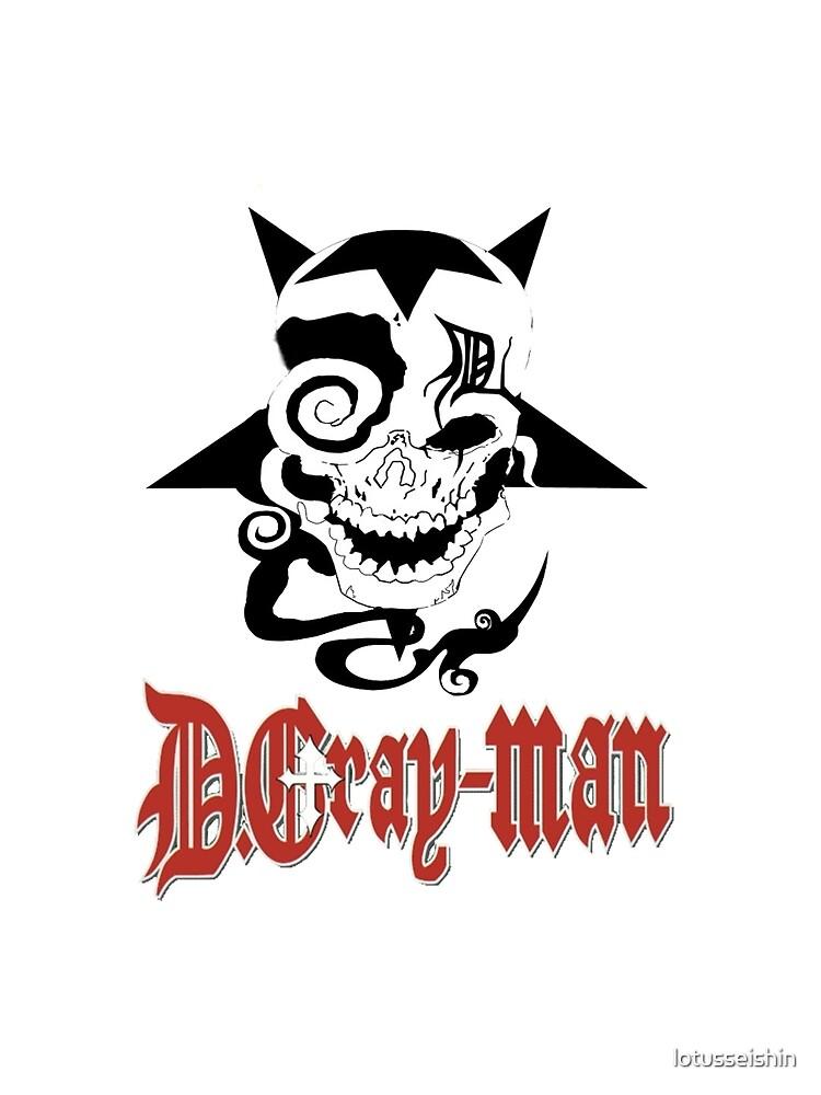 D Gray Man logo by lotusseishin