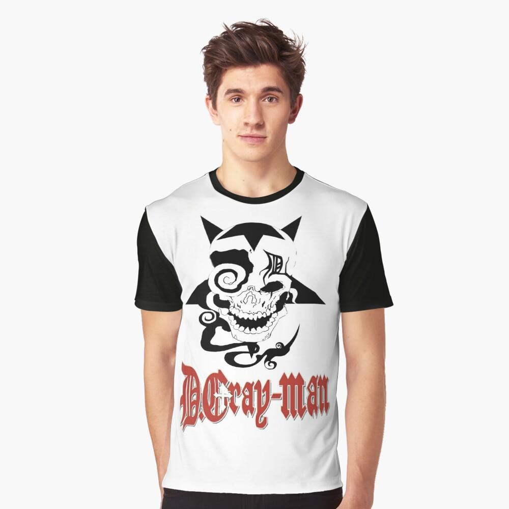 D Gray Man logo Graphic T-Shirt