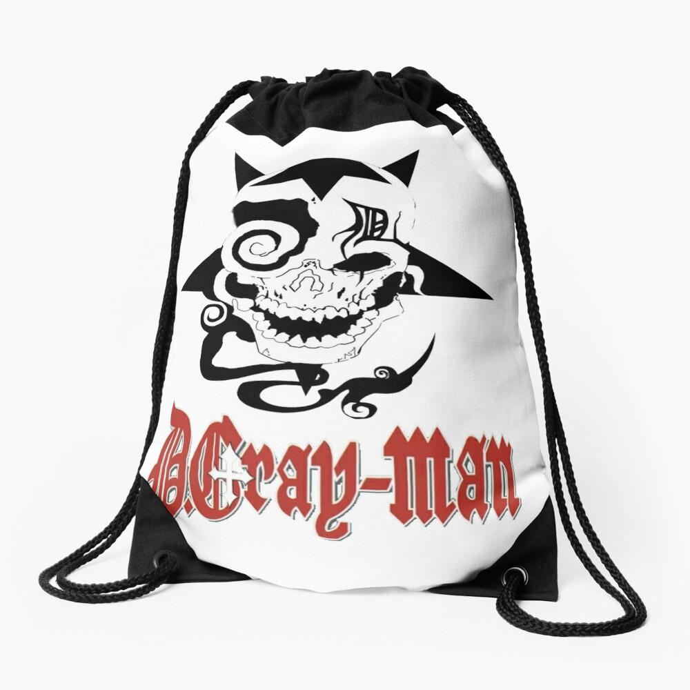 D Gray Man logo Drawstring Bag