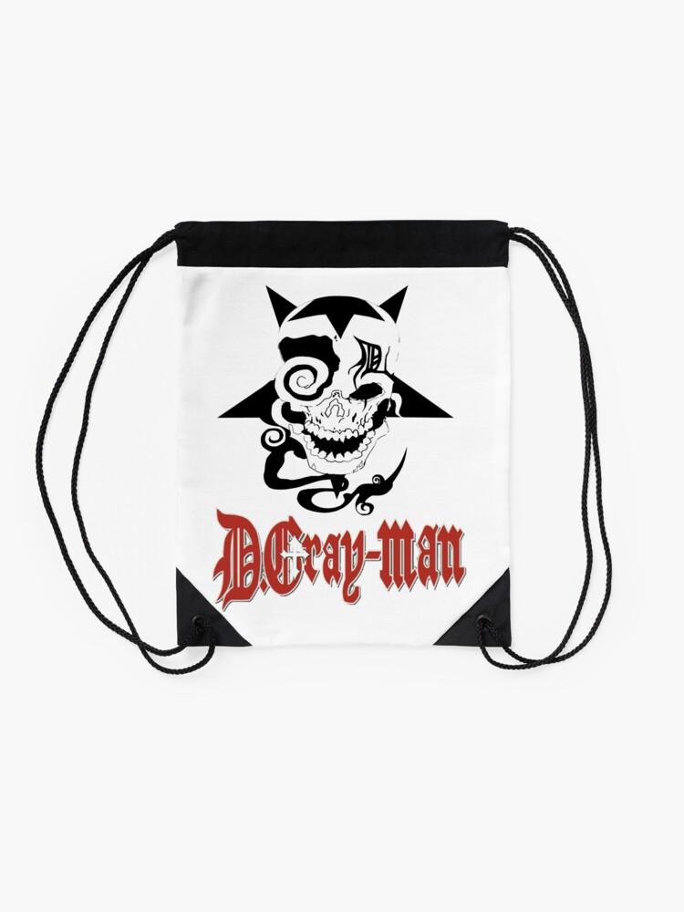 Alternate view of D Gray Man logo Drawstring Bag