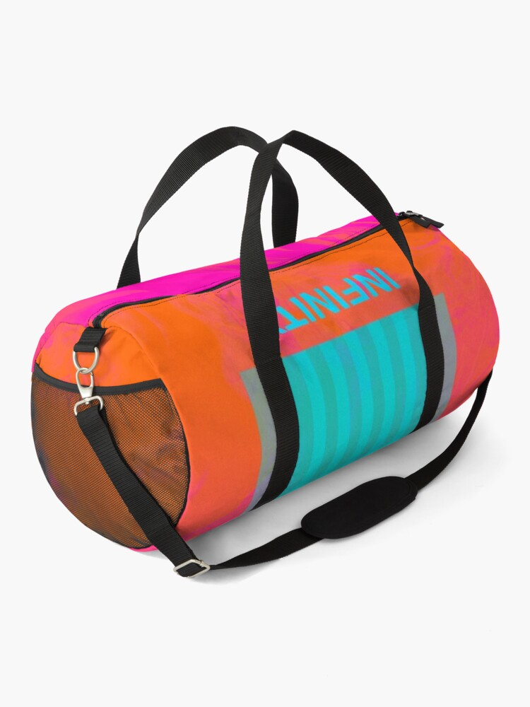 Alternate view of Infinity on Orange and Pink Duffle Bag