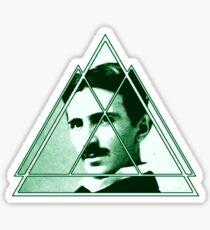 Tri-Tesla Sticker
