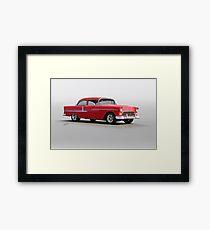 1955 Chevrolet 150 Post Coupe Framed Print