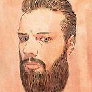 Self portrait by AndersHolmDK