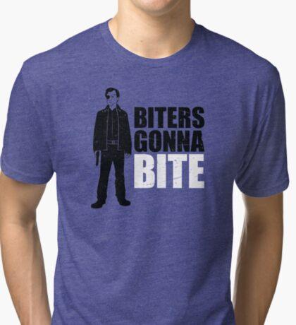Biters Gonna Bite Tri-blend T-Shirt