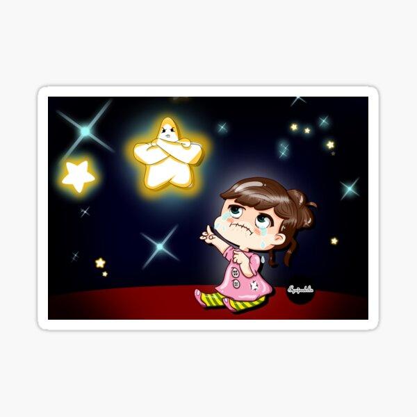 Star of bad wishes Sticker