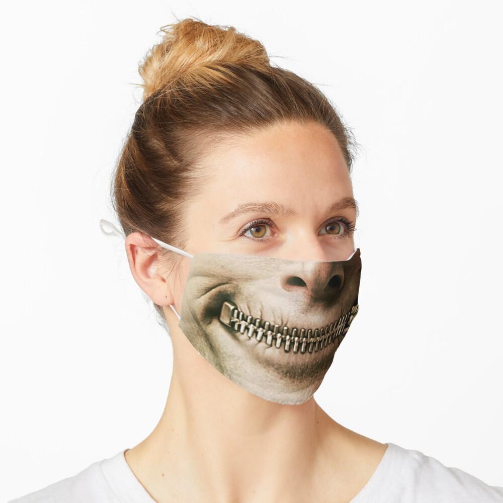halloween zipper Mask
