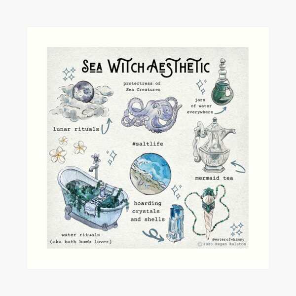 Witch Aesthetic Wall Art Redbubble
