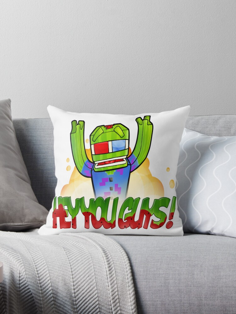 Quot Hey You Guys Quot Throw Pillows By Bashurverse Redbubble