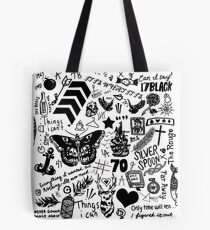 1D Tattoos Updated (2015) Tote Bag
