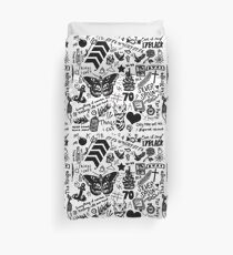 1D Tattoos Updated (2015) Duvet Cover
