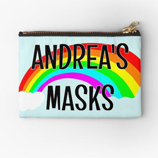 ANDREA'S MASKS BAG Zipper Pouch