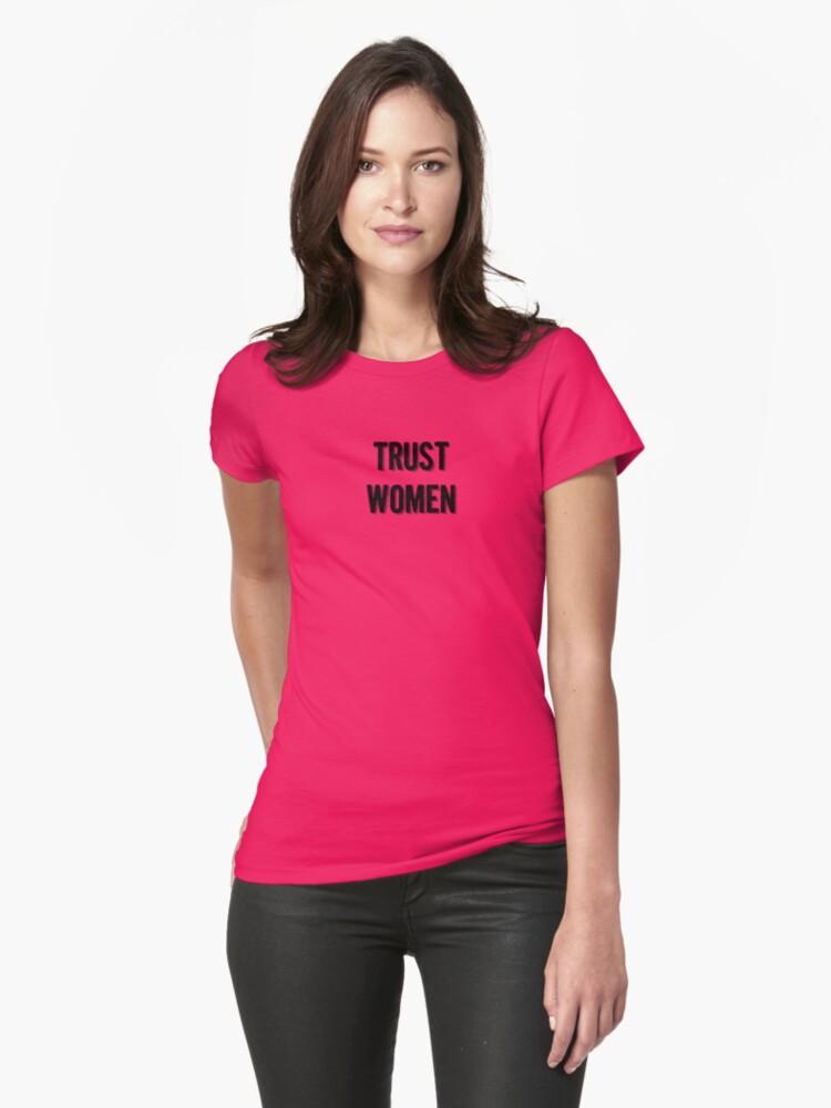 Trust Women (dark on light) by Hawthorn Mineart
