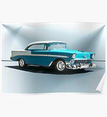 1956 Chevrolet Bel Air Hardtop Poster