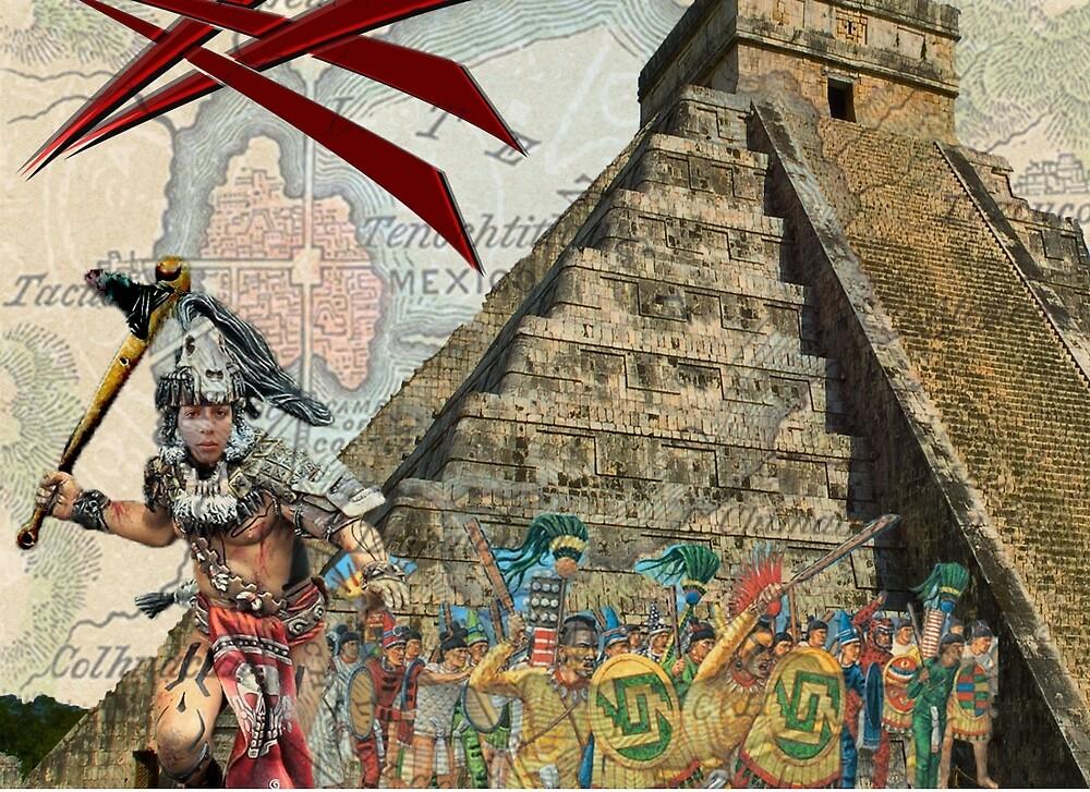 Aztec Warrior by Rene Rodriguez