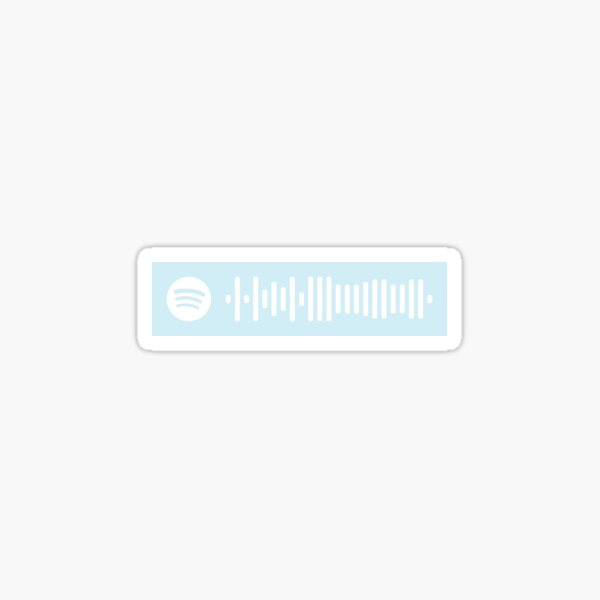 You & I by One Direction Spotify Code Sticker