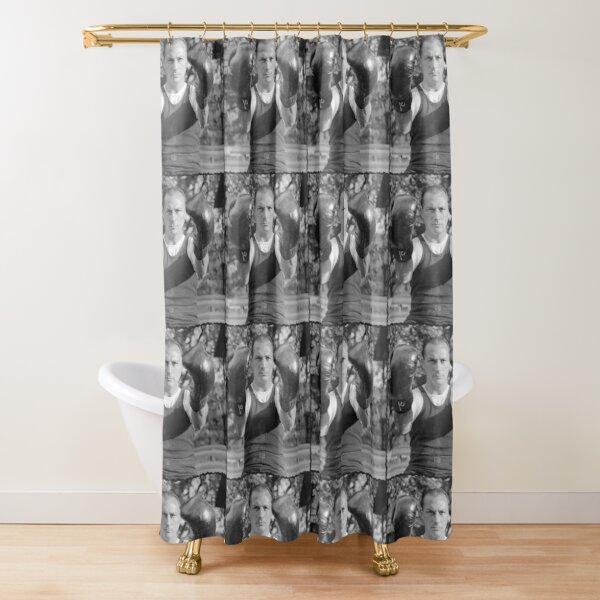 Boxing Champion from the 1910's and 20's! Shower Curtain