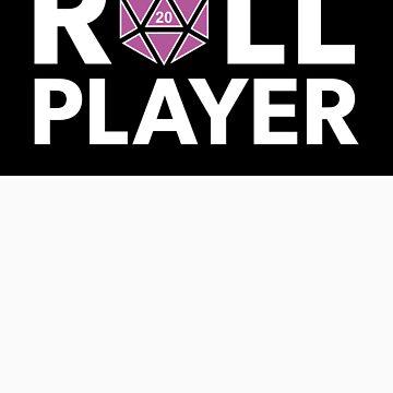 Roll Player Pink D20 Sticker by NaShanta