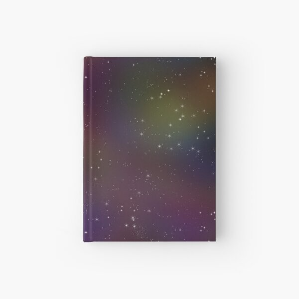 Sparkle Space in Rainbow Hardcover Journal