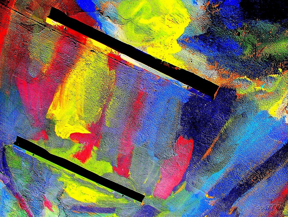 Paint Smears #3 by David Schroeder