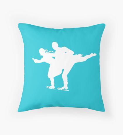 Pairs Skating Throw Pillow