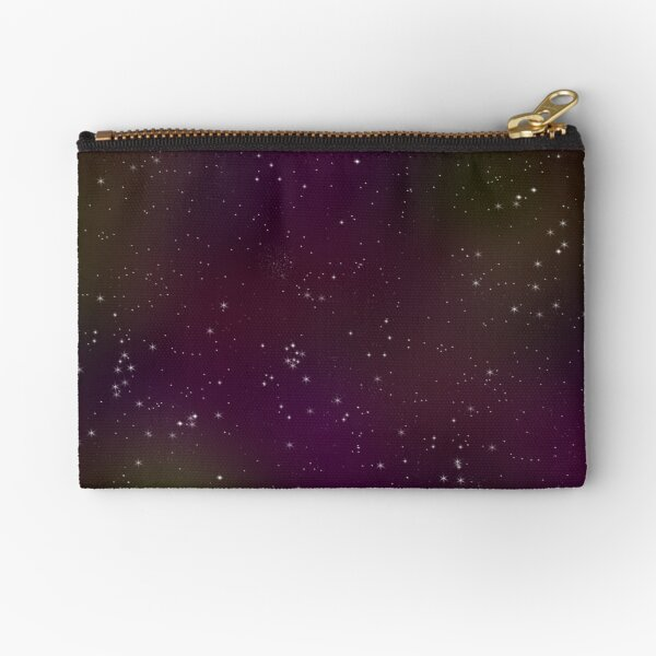 Sparkle Space in Pinks 'n' Purples Zipper Pouch