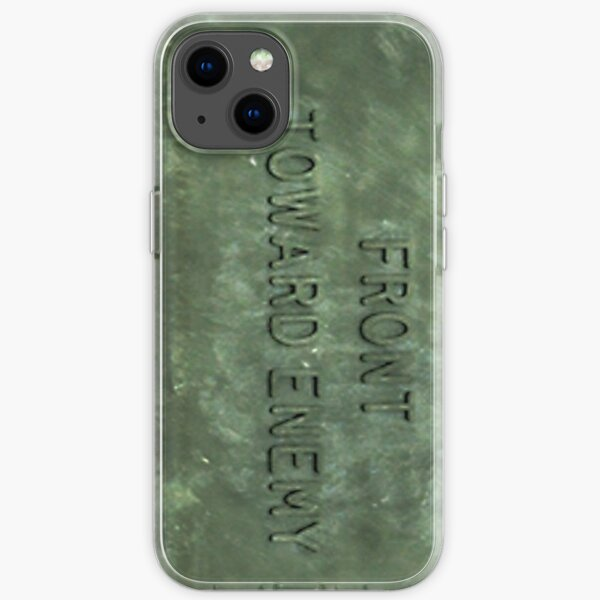 """""""Front Toward Enemy""""  iPhone Soft Case"""
