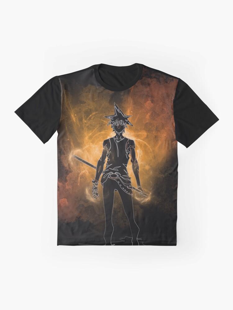 Alternate view of Sun Wukong Awakening Graphic T-Shirt