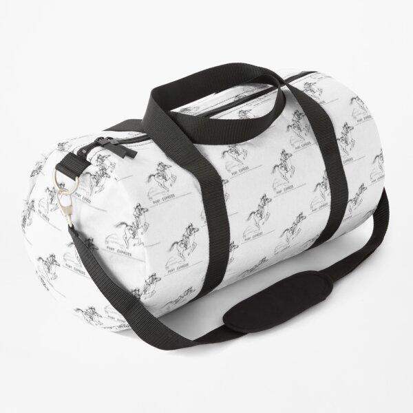 pony express Duffle Bag
