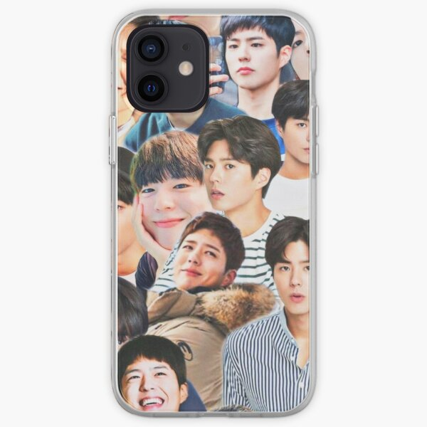 Park Bo-gum collage iPhone Soft Case