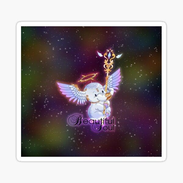 Beautiful Soul Magical Elephant Sticker