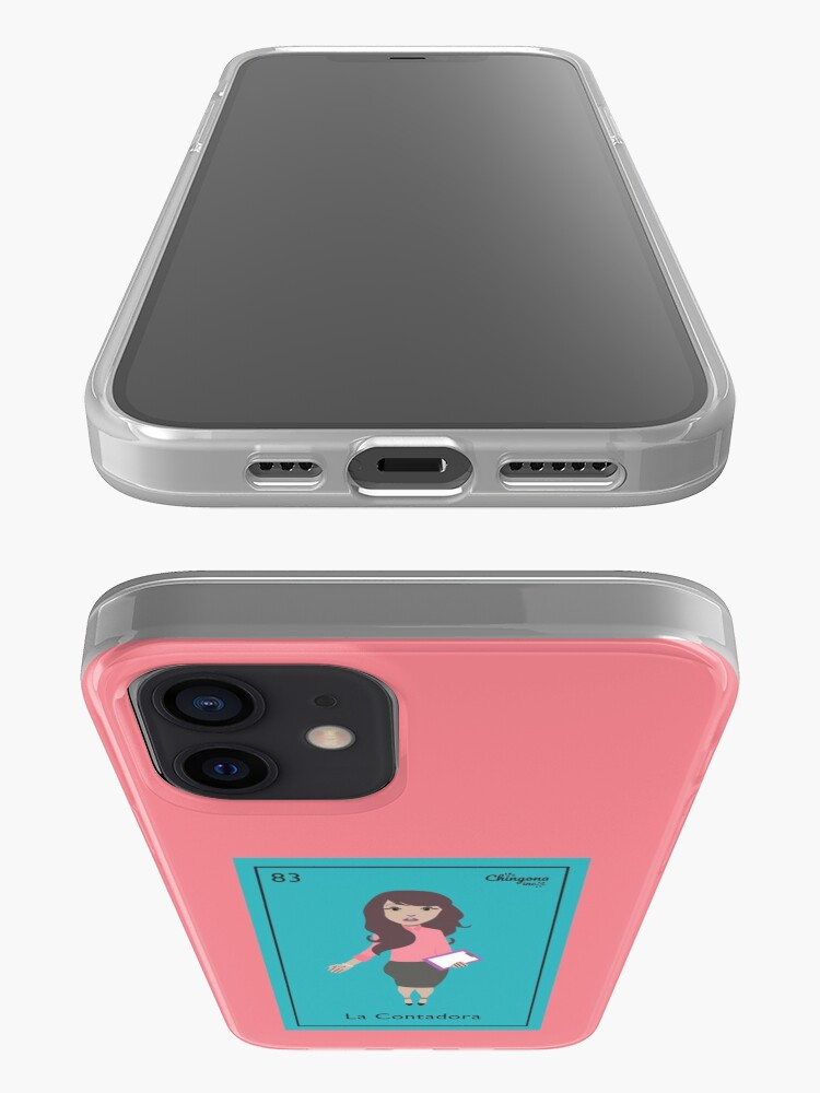 Alternate view of La Contadora iPhone Case